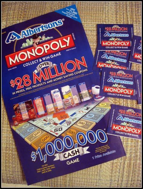 Albertsons Monopoly Sweepstakes - monopoly albertsons related keywords monopoly albertsons long tail keywords keywordsking