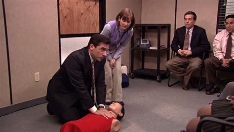 The Office Staying Alive by The Office Cpr Episode Brian Baumgartner Davorite