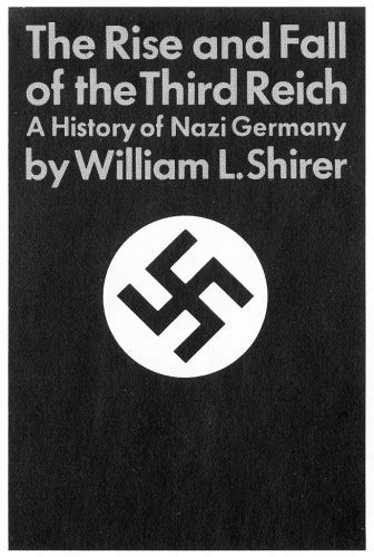 The Rise And Fall Of Images by The Rise And Fall Of The Third Reich Jacket