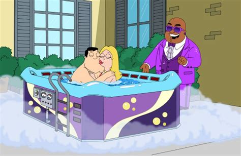 family guy cleveland bathtub animation domination tv review the simpsons the