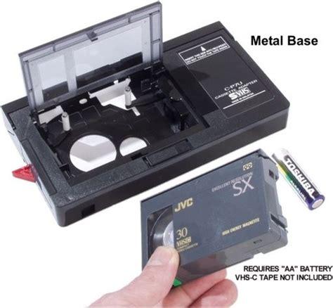 adattatore cassette el303e cassette adaptor vhs c vcr parts wagner store