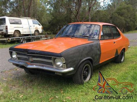 torana lc  door running engine  triple carbies extractors suit gtr buyer lj