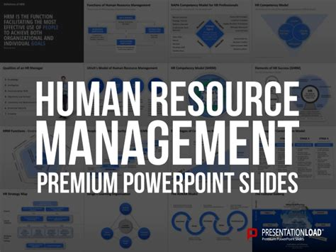 Human Resource Management Powerpoint Template Human Resources Powerpoint Template