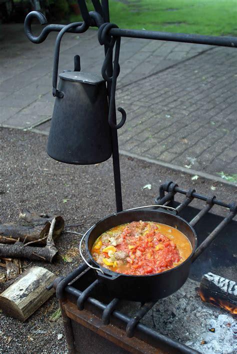 topf für feuerstelle oven cooking wie die pioniere