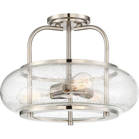 Quoizel Trg1716bn Trilogy Modern Brushed Nickel Modern Fluorescent Ceiling Lights