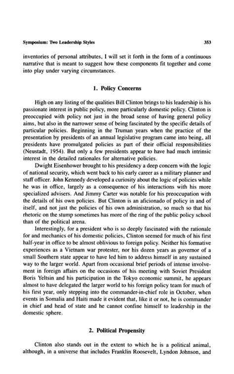 Essays On Bill Clinton by Leadership In Workplace Essay Sle Essay On Development Academic Research