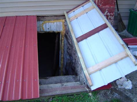 building a bilco cellar door for farmhouse ideas