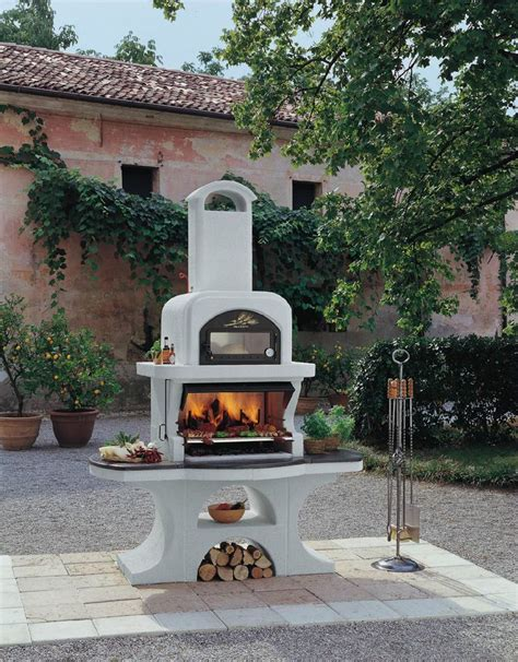 palazzetti outdoor bbq pizza oven stainless