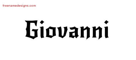 giovanni archives   designs