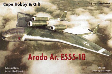 Home Planes Arado Ar E 555 10 By Cape Hobby Amp Gift
