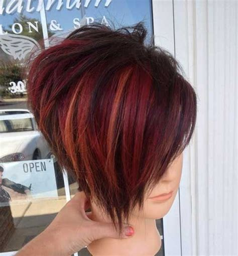 14 Cool Funky Hairstyles   Red ombre, Ombre and Bobs