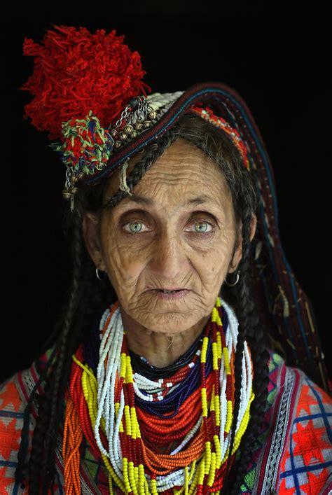 kalash women kalash tribe celebrates spring in remote mountain valley