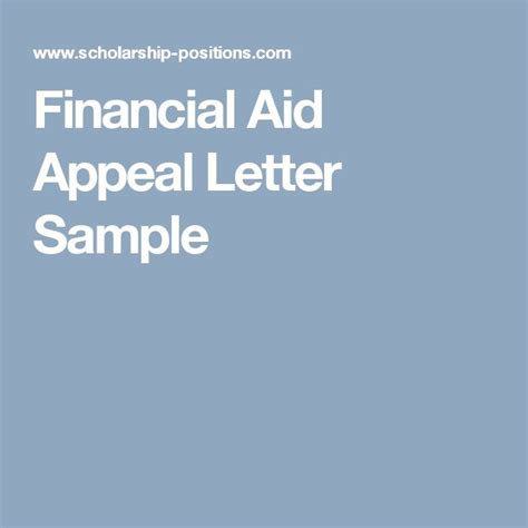 Financial Aid Appeal Letter Gpc 25 Best Ideas About Letter Sle On Letter Format Sle Resume Cover Letter