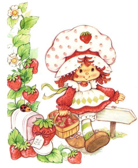 Strawberry Shortcake - strawberry shortcake on strawberry