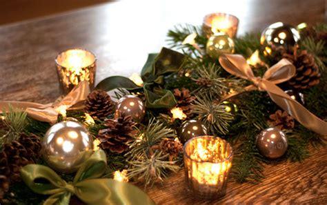 diy weihnachtliche tischgirlande deko kitchen