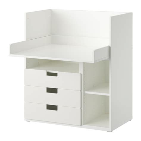 ikea desk drawers australia stuva desk with 3 drawers white ikea