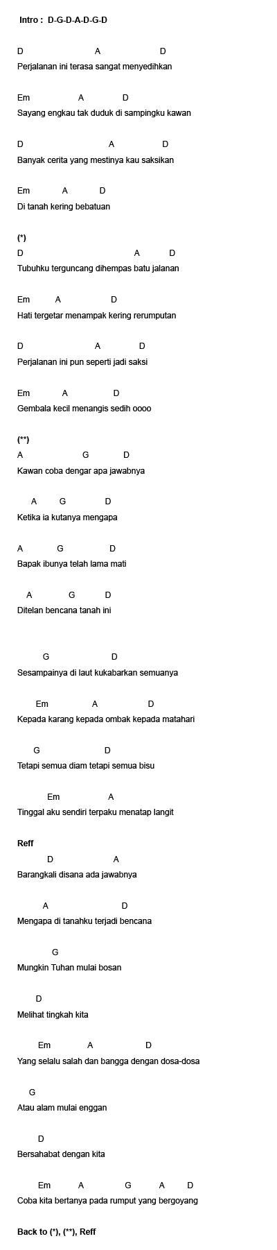 berita kepada kawan ebiet g ade with lyrics lirik lagu on 7 dan lyrics lirik lagu ebiet g ade