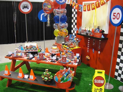 cars theme decorations d23 expo 2011 cars themed birthday supplies flickr