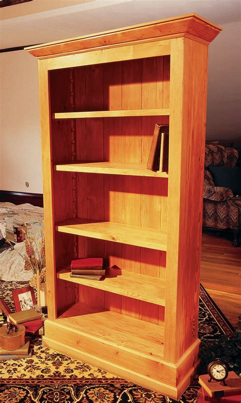 cottage bookcase woodworking projects bookcase plans