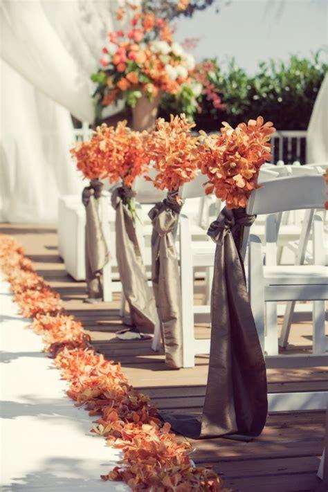 romantic canada wedding  warm fall colors modwedding
