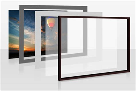 cornice 100x70 cornice con passepartout whitewall