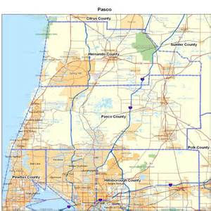 pasco county zip code map