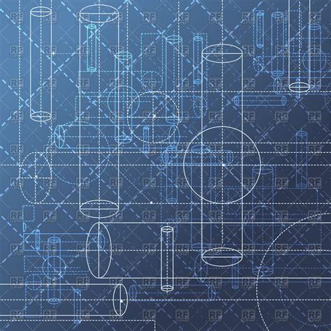 blueprint design free technical blueprint drawing abstract geometry background