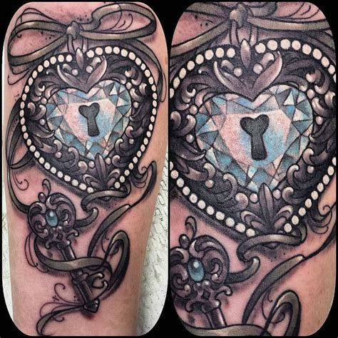 20 best ideas about heart locket tattoos on pinterest