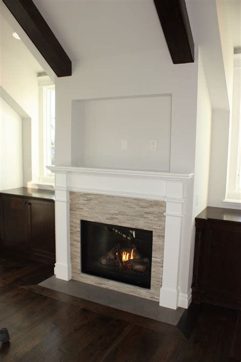 what is the stacking used on this fireplace surround