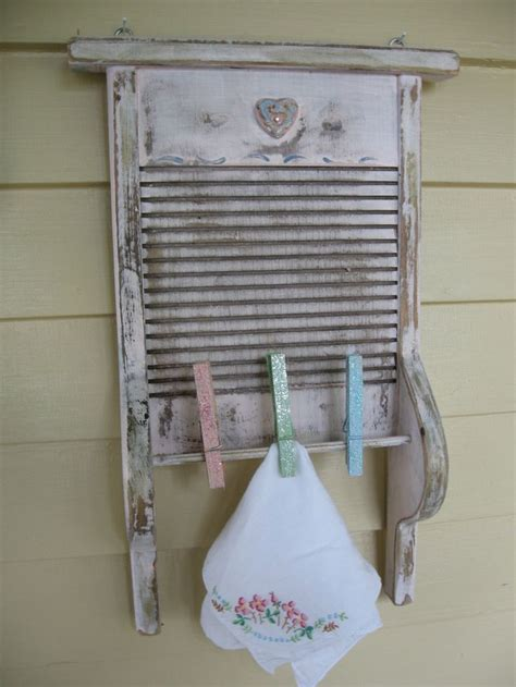 Vintage Laundry Room Decor Vintage Washboard Decor Vintage Laundry Room Upcycled Washboard T