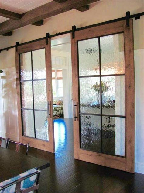 barn door glass best 20 glass barn doors ideas on barn doors