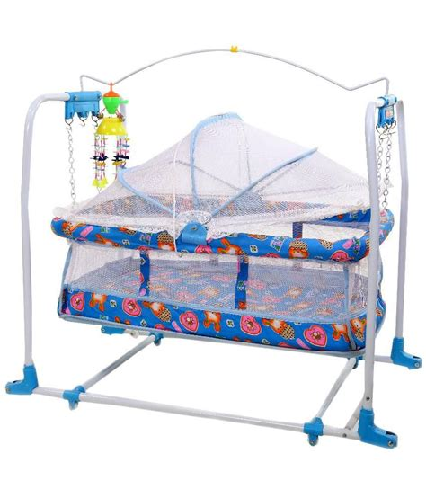 swing mobile janda baby mobile swing blue bassinet best price in india