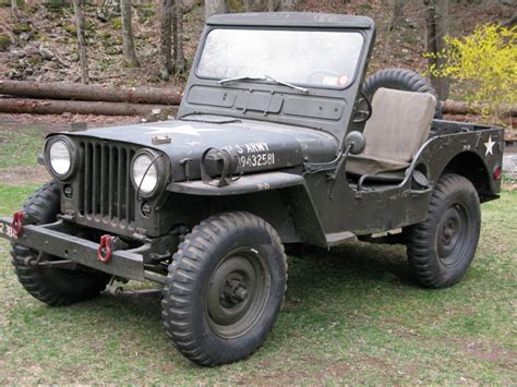willys jeep for sale 1952 jeep m38 willys for sale