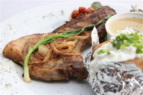 chicago steak houses foto de chicago steak house patong beer battered salmon tripadvisor