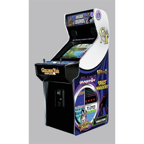 chicago gaming legends  upright arcade game wayfair