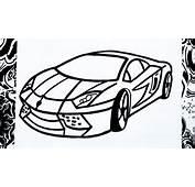 Como Dibujar Un Carro  How To Draw A Car YouTube