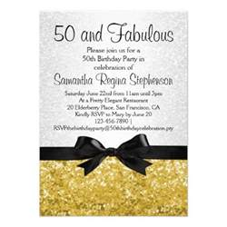 invitation card for 50th birthday festival tech