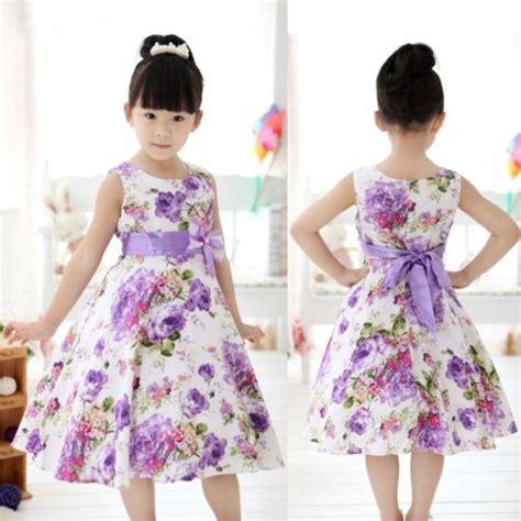 Dress Anak Erika Bunga Printing gaun anak beli murah gaun anak lots from china gaun anak
