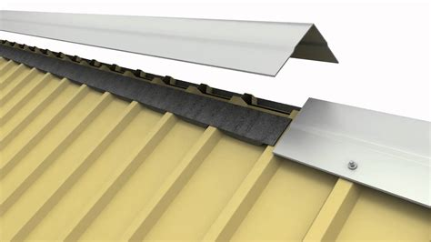 Shed Roof Ridge Cap by Metal Building Ridge Vent