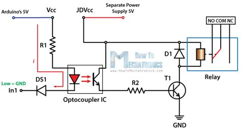how to read a relay circuit diagram circuit and