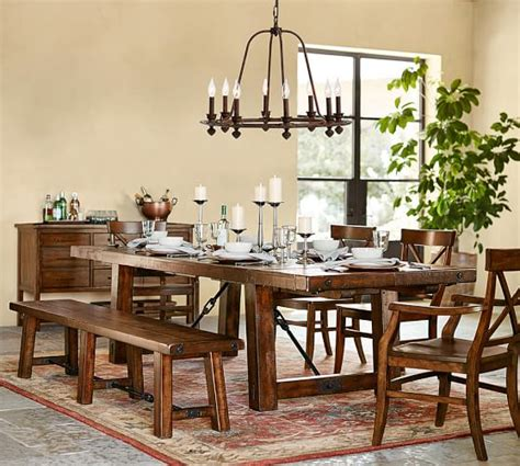 Ornate Iron Ring Chandelier Pottery Barn Pottery Barn Dining Room Light Fixtures