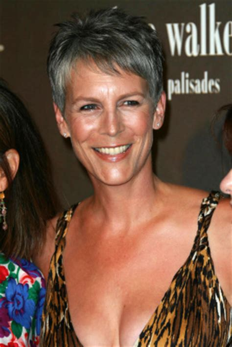 jamie lee curtis hairstyle front and back view katie holmes pixie haircut front and back photos short