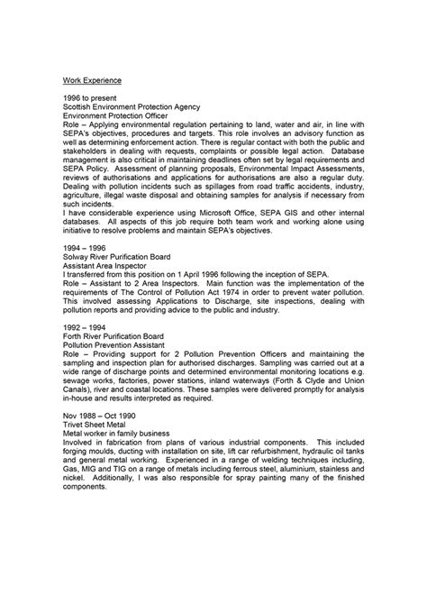 Sample Resume Format For Job Application by Cv Examples Uk And Worldwide