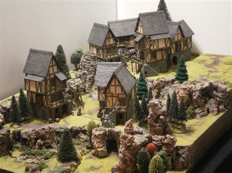 great medieval house plan miniatures pinterest a castle arts medieval village i d love to make something