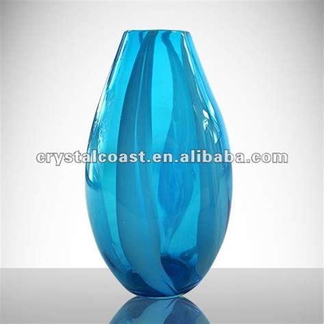 Blue Glass Vases Cheap by Wholesale Cheap Flower Shape Royal Blue Glass Vase