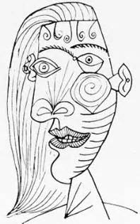 picasso coloring pages masterful picasso sketches and drawings