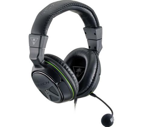 Headset Turtle turtle ear xo seven pro 2 0 gaming headset black green deals pc world