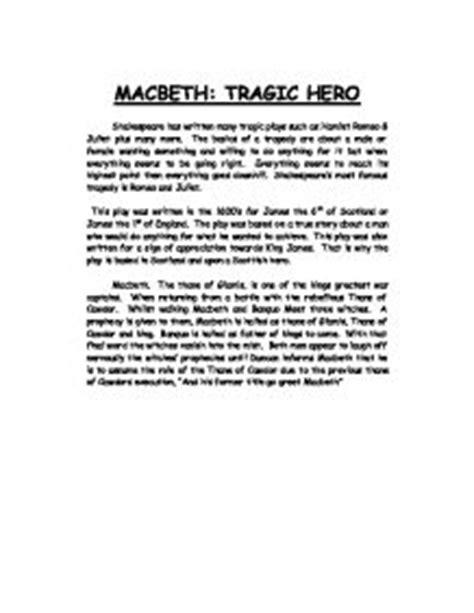macbeth tragedy essay macbeth essay 145 macbeth tyrant or tragic