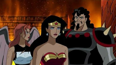 justice league film hawkgirl wonder woman and hawkgirl vs hades justice league