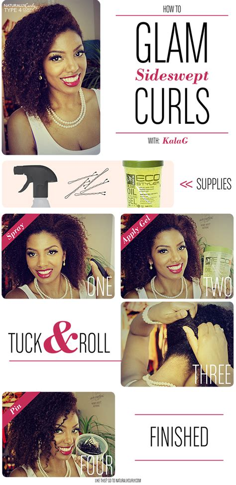 Glam Hair Quiz by Glam Curls Tutorial Type 3